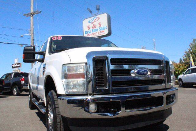 2008 Ford F-350 Super Duty for sale at S&S Best Auto Sales LLC in Auburn WA