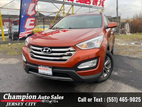 2016 Hyundai Santa Fe Sport for sale at CHAMPION AUTO SALES OF JERSEY CITY in Jersey City NJ