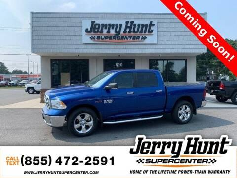 2017 RAM Ram Pickup 1500 for sale at Jerry Hunt Supercenter in Lexington NC