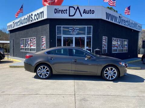2017 Mazda MAZDA6 for sale at Direct Auto in D'Iberville MS