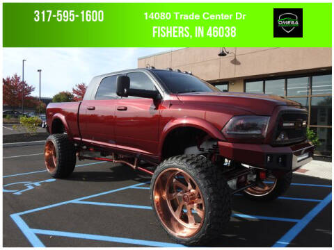 2014 RAM Ram Pickup 2500 for sale at Omega Autosports of Fishers in Fishers IN