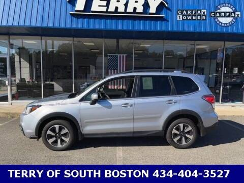 2018 Subaru Forester for sale at Terry of South Boston in South Boston VA