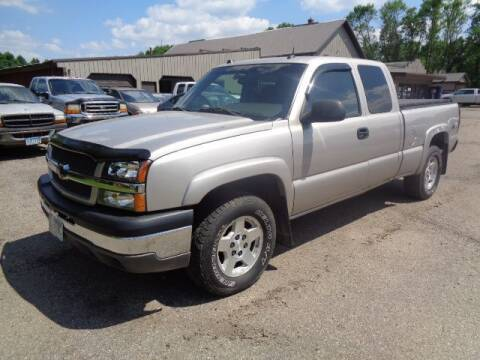 2004 Chevrolet Silverado 1500 for sale at COUNTRYSIDE AUTO INC in Austin MN