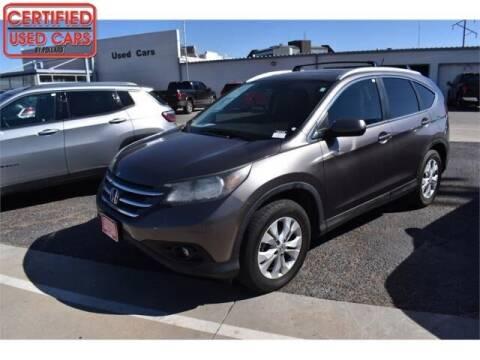 2012 Honda CR-V for sale at South Plains Autoplex by RANDY BUCHANAN in Lubbock TX