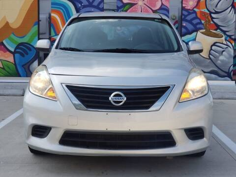 2012 Nissan Versa for sale at Delta Auto Alliance in Houston TX