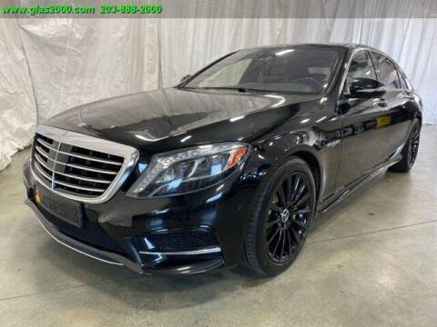 2015 Mercedes-Benz S-Class for sale at Green Light Auto Sales LLC in Bethany CT