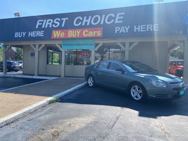 2009 Chevrolet Malibu for sale at First Choice Auto Sales in Rock Island IL