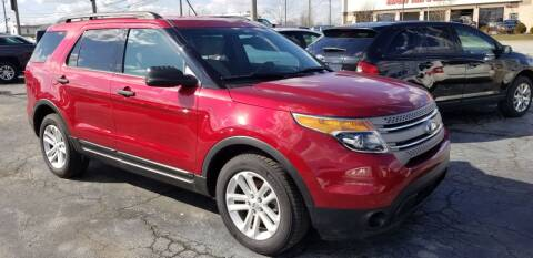 2015 Ford Explorer for sale at Martins Auto Sales in Shelbyville KY