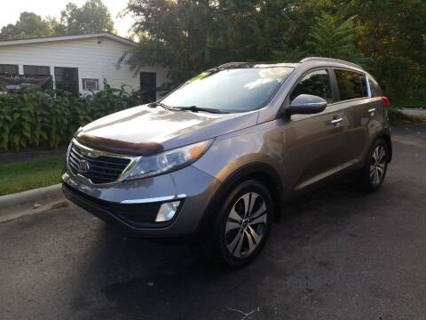 2012 Kia Sportage for sale at TR MOTORS in Gastonia NC