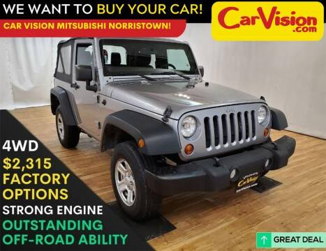 2013 Jeep Wrangler for sale at Car Vision Mitsubishi Norristown in Trooper PA