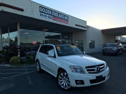 2011 Mercedes-Benz GLK for sale at Golden State Auto Inc. in Rancho Cordova CA