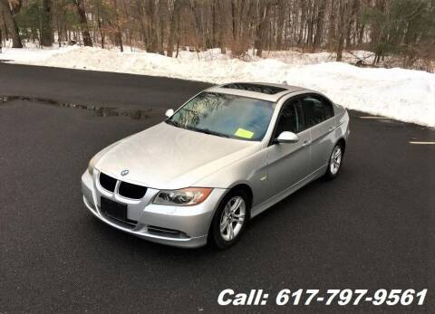 2008 BMW 3 Series for sale at Wheeler Dealer Inc. in Acton MA