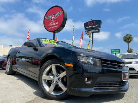 2015 Chevrolet Camaro for sale at Auto Express in Chula Vista CA