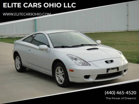 2000 Toyota Celica for sale at ELITE CARS OHIO LLC in Solon OH