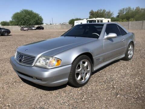 2002 Mercedes-Benz SL-Class for sale at Autos by Jeff in Peoria AZ