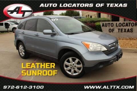 2009 Honda CR-V for sale at AUTO LOCATORS OF TEXAS in Plano TX