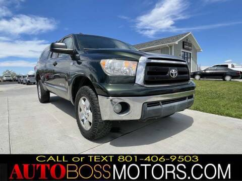 2010 Toyota Tundra for sale at Auto Boss in Woods Cross UT