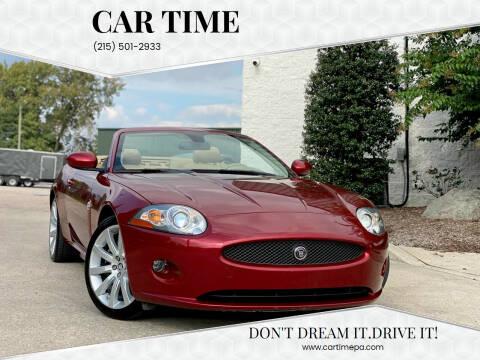 2008 Jaguar XK-Series for sale at Car Time in Philadelphia PA
