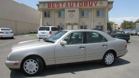 1998 Mercedes-Benz E-Class for sale at Best Auto Buy in Las Vegas NV