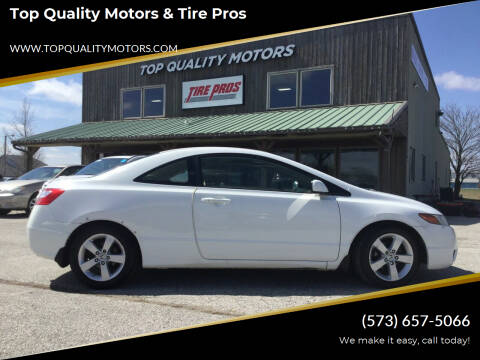2008 Honda Civic for sale at Top Quality Motors & Tire Pros in Ashland MO