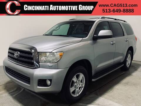 2008 Toyota Sequoia for sale at Cincinnati Automotive Group in Lebanon OH