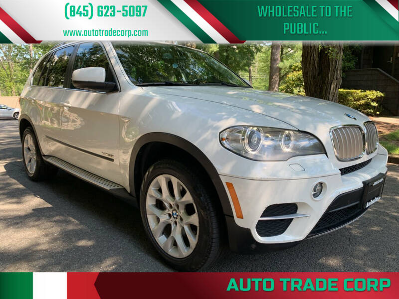 2013 BMW X5 for sale at AUTO TRADE CORP in Nanuet NY
