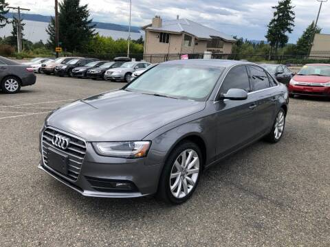 2013 Audi A4 for sale at KARMA AUTO SALES in Federal Way WA