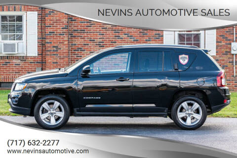 2014 Jeep Compass for sale at Nevins Automotive Sales in Hanover PA