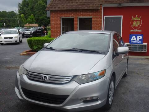 2010 Honda Insight for sale at AP Automotive in Cary NC