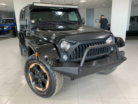 2014 Jeep Wrangler Unlimited for sale at Auto Mall of Springfield in Springfield IL