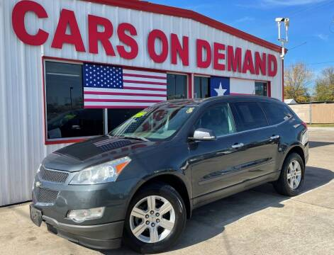 2011 Chevrolet Traverse for sale at Cars On Demand 3 in Pasadena TX