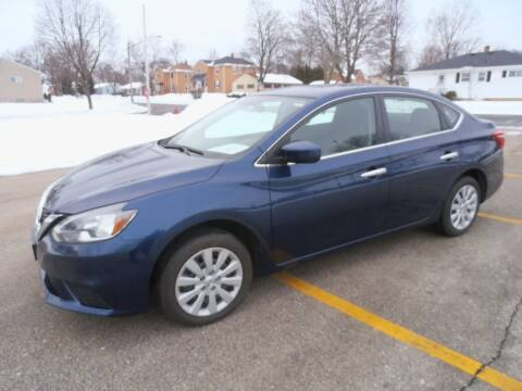 2019 Nissan Sentra for sale at A-Auto Luxury Motorsports in Milwaukee WI