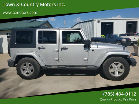2007 Jeep Wrangler Unlimited for sale at Town & Country Motors Inc. in Meriden KS