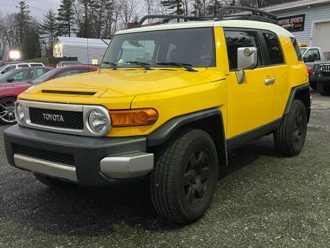 2007 Toyota FJ Cruiser for sale at Top Line Motorsports in Derry NH