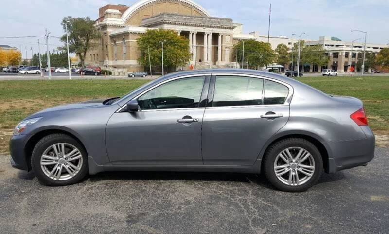 2013 Infiniti G37 Sedan for sale at Burhill Leasing Corp. in Dayton OH