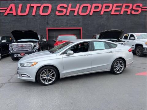 2017 Ford Fusion for sale at AUTO SHOPPERS LLC in Yakima WA