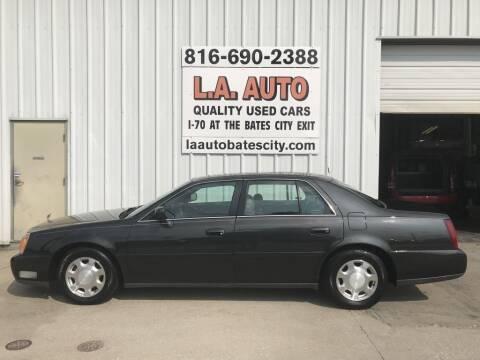 2001 Cadillac DeVille for sale at LA AUTO in Bates City MO