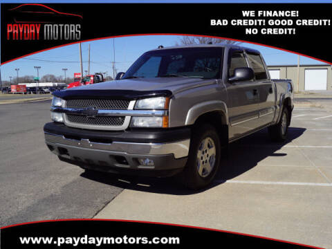 2005 Chevrolet Silverado 1500 for sale at Payday Motors in Wichita And Topeka KS
