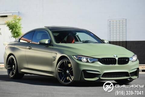 2015 BMW M4 for sale at Galaxy Autosport in Sacramento CA