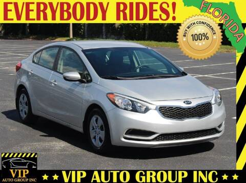 2016 Kia Forte for sale at VIP Auto Group in Clearwater FL