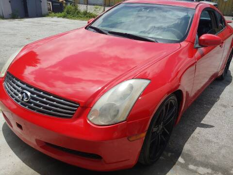 2004 Infiniti G35 for sale at Autos by Tom in Largo FL