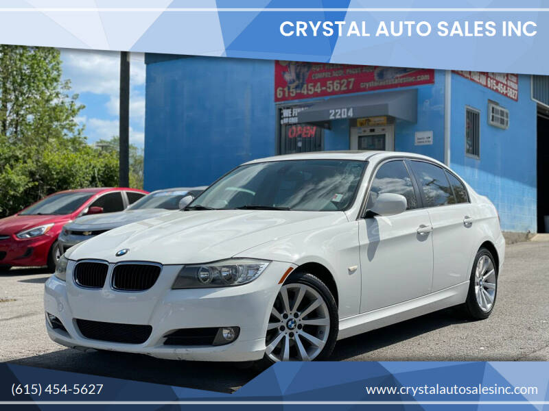 2011 BMW 3 Series for sale at Crystal Auto Sales Inc in Nashville TN