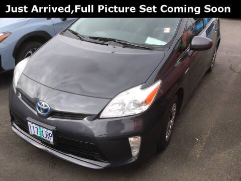 2015 Toyota Prius for sale at Royal Moore Custom Finance in Hillsboro OR