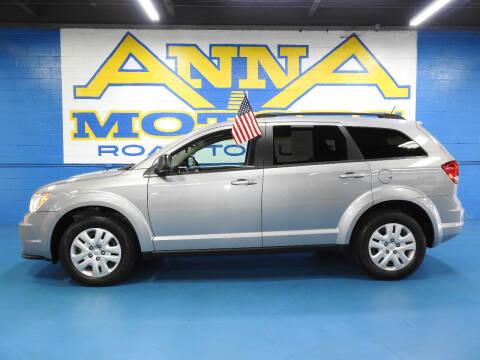 2016 Dodge Journey for sale at ANNA MOTORS, INC. in Detroit MI