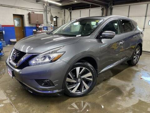 2015 Nissan Murano for sale at Sonias Auto Sales in Worcester MA