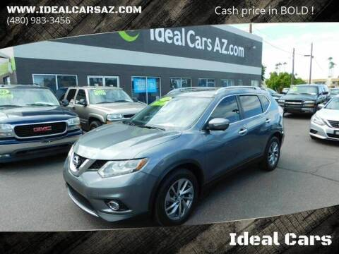 2015 Nissan Rogue for sale at Ideal Cars East Mesa in Mesa AZ