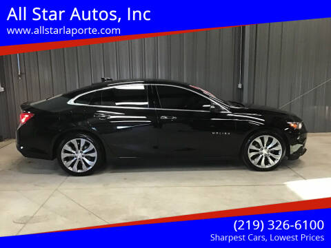 2016 Chevrolet Malibu for sale at All Star Autos, Inc in La Porte IN