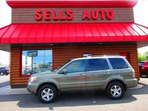 2007 Honda Pilot for sale at Sells Auto INC in Saint Cloud MN
