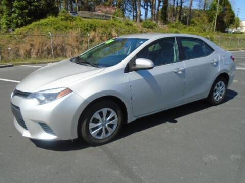 2015 Toyota Corolla for sale at Atlanta Auto Max in Norcross GA