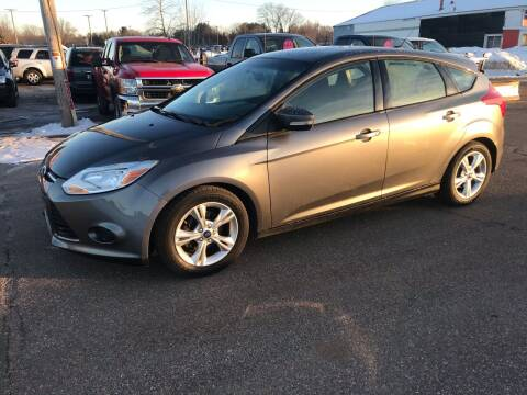 2013 Ford Focus for sale at BLAESER AUTO LLC in Chippewa Falls WI